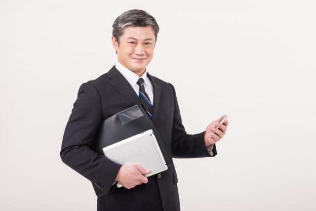 中高年のビジネスマン